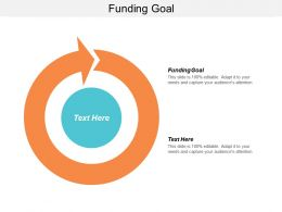 Funding Goal Ppt Powerpoint Presentation File Graphics Download Cpb