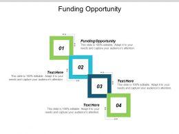 Funding Opportunity Ppt Powerpoint Presentation Portfolio Show Cpb