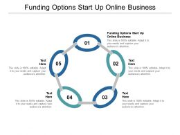 Funding Options Start Up Online Business Ppt Powerpoint Presentation Ideas Cpb