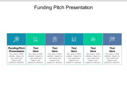 Funding Pitch Presentation Ppt Powerpoint Presentation Ideas Brochure Cpb