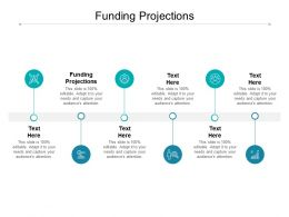 Funding Projections Ppt Powerpoint Presentation Styles Slide Portrait Cpb
