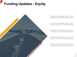 Funding Updates Equity Capture Ppt Powerpoint Presentation Deck