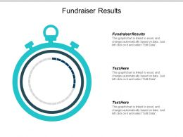 Fundraiser Results Ppt Powerpoint Presentation Summary Example Cpb