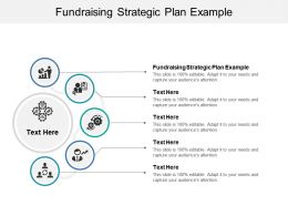 Fundraising Strategic Plan Example Ppt Powerpoint Presentation Infographic Cpb