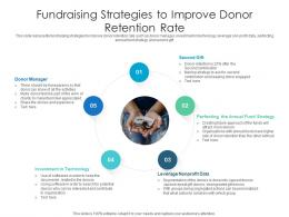 Fundraising Strategies To Improve Donor Retention Rate
