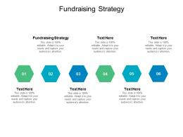 Fundraising Strategy Ppt Powerpoint Presentation Infographics Grid Cpb