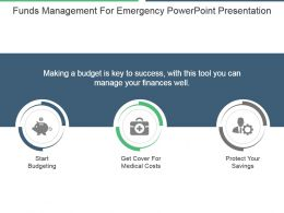 Funds Management For Emergency Powerpoint Presentation