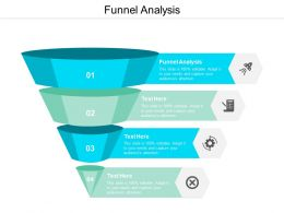 Funnel Analysis Ppt Powerpoint Presentation Professional Influencers Cpb