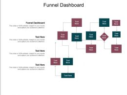Funnel Dashboard Ppt Powerpoint Presentation Slides Graphic Tips Cpb