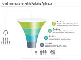 Funnel For Mobile Marketing Application Infographic Template