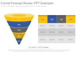 Funnel Forecast Review Ppt Examples