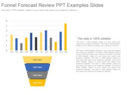 Funnel Forecast Review Ppt Examples Slides