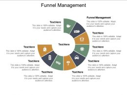 Funnel Management Ppt Powerpoint Presentation Outline Inspiration Cpb