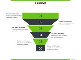 Funnel Powerpoint Slide Background