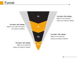 Funnel Powerpoint Slide Graphics
