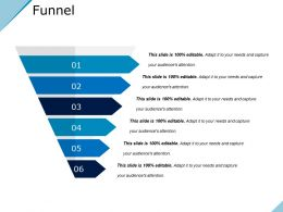 Funnel Powerpoint Slide Presentation Guidelines