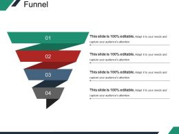 47927899 Style Layered Funnel 4 Piece Powerpoint Presentation Diagram Infographic Slide