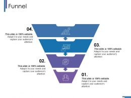 13177215 Style Layered Funnel 4 Piece Powerpoint Presentation Diagram Infographic Slide