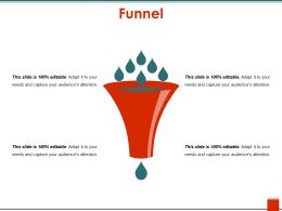 70369610 Style Layered Funnel 4 Piece Powerpoint Presentation Diagram Infographic Slide