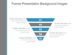 Funnel Presentation Background Images