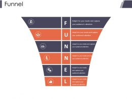 Funnel Presentation Layouts Template 1