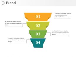 16819874 Style Layered Funnel 4 Piece Powerpoint Presentation Diagram Infographic Slide