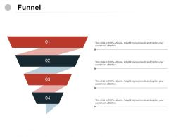 Funnel Sales Marketing Ppt Powerpoint Presentation Slides Mockup