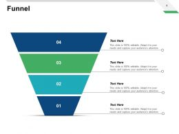 Funnel Sales Ppt Powerpoint Presentation Pictures Templates