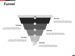 Funnel Sales Strategy K69 Ppt Powerpoint Presentation Template