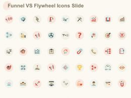 Funnel Vs Flywheel Icons Slide Ppt Powerpoint Presentation Pictures Microsoft