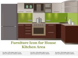 Furniture Icon For House Kitchen Area