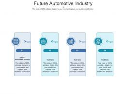 Future Automotive Industry Ppt Powerpoint Presentation Professional Images Cpb