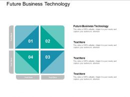 Future Business Technology Ppt Powerpoint Presentation Infographic Template Visual Aids Cpb