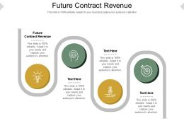 Future Contract Revenue Ppt Powerpoint Presentation Show Example Introduction Cpb