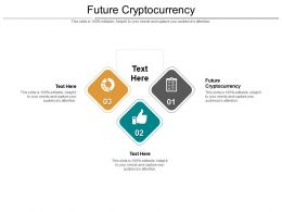 Future Cryptocurrency Ppt Powerpoint Presentation Outline Picture Cpb