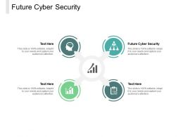 Future Cyber Security Ppt Powerpoint Presentation Slides Graphics Design Cpb
