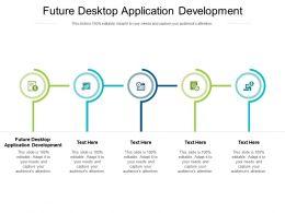 Future Desktop Application Development Ppt Presentation Slides Templates Cpb