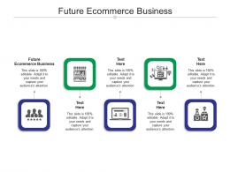Future Ecommerce Business Ppt Powerpoint Presentation Outline Background Images Cpb