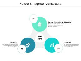 Future Enterprise Architecture Ppt Powerpoint Presentation Professional Design Templates Cpb