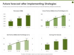 Future Forecast After Implementing Strategies Margin Ppt Powerpoint Presentation Rules