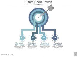 Future Goals Trends Powerpoint Slide Backgrounds