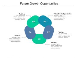 Future Growth Opportunities Ppt Powerpoint Presentation Infographics Layout Ideas Cpb