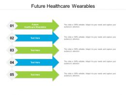 Future Healthcare Wearables Ppt Powerpoint Presentation Slides Graphics Cpb