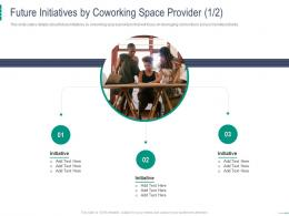 Future Initiatives By Coworking Space Provider Initiative Coworking Space Investor