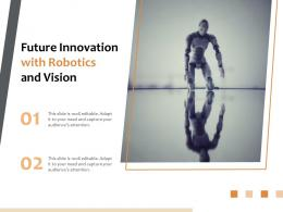 Future Innovation With Robotics And Vision