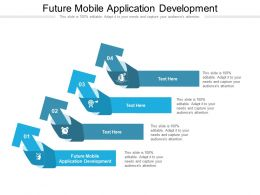 Future Mobile Application Development Ppt Infographic Template Master Slide Cpb