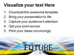 Future Nature PowerPoint Template 0510