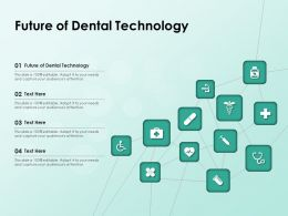 Future Of Dental Technology Ppt Powerpoint Presentation Summary Objects