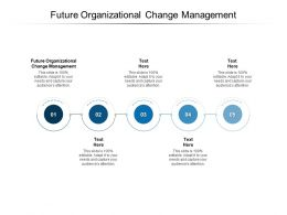 Future Organizational Change Management Ppt Powerpoint Presentation Gallery Cpb