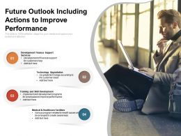 Future Outlook Including Actions To Improve Performance